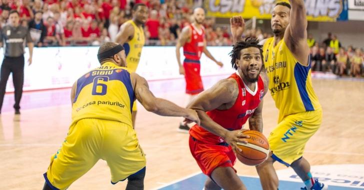 CSM CSU Oradea și BC CSU Sibiu se vor confrunta din nou în grupele FIBA Europe Cup