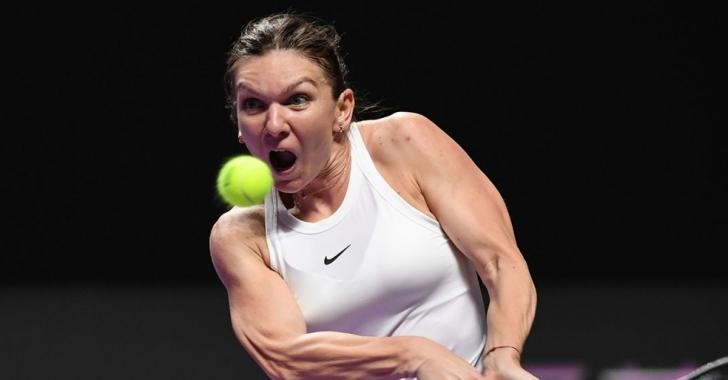 WTA Roma: Halep ridică strocul și urcă în sferturi