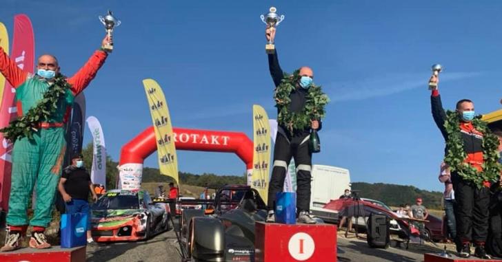 Viteză în coastă: Emil Nestor este campion după o nouă victorie cu record