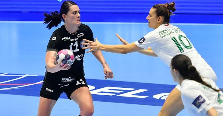 """EHF CL: Victorie în Germania. """"Tigroaicele"""" trec pe primul loc în grupă"""