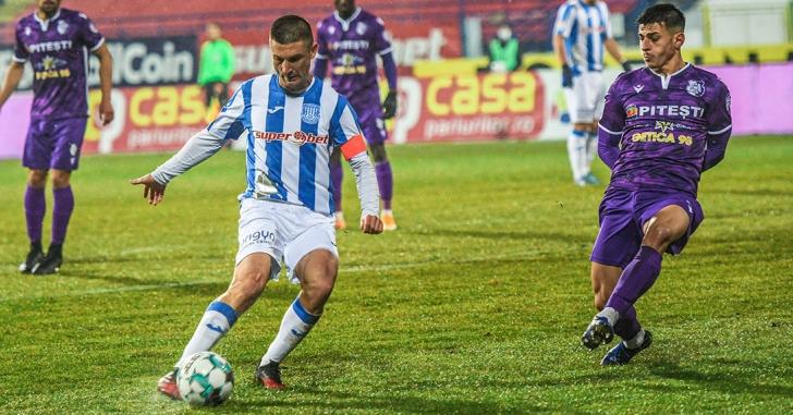 Liga 1: Andrei Cristea celebrează cu gol al 400-lea meci în Liga 1