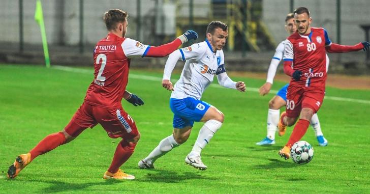 Liga 1: Meci nul la Botoșani pentru olteni la revenirea lui Papură