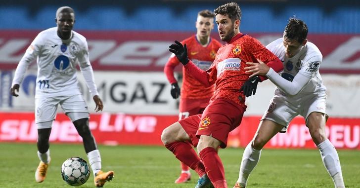 Liga 1: FCSB învinge la limită în meciul-spectacol de la Mediaș