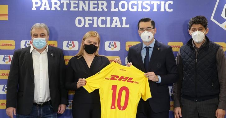 DHL Express România revine ca partener al Federației Române de Fotbal