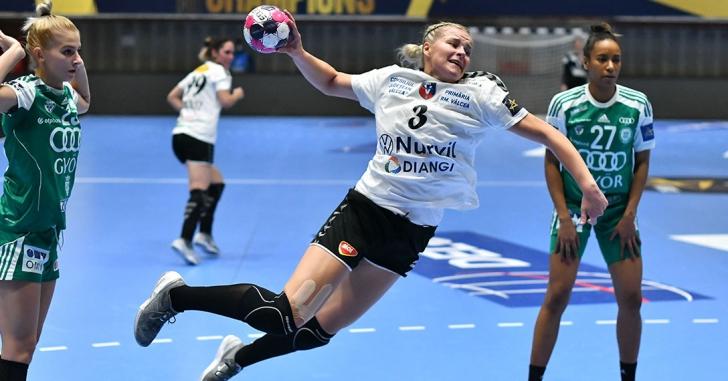 EHF CL: Nimic de făcut în fața deținătoarei trofeului