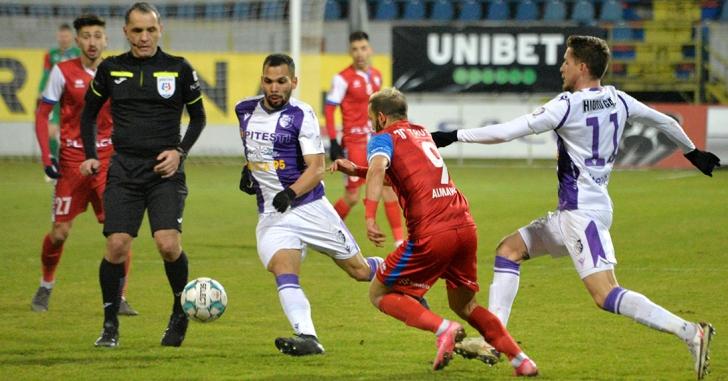 Liga 1: Piteștenii se impun la limită la Botoșani