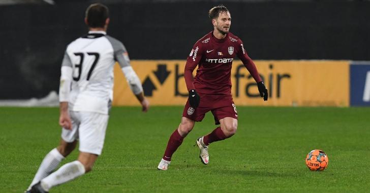 Liga 1: CFR Cluj egalează liderul