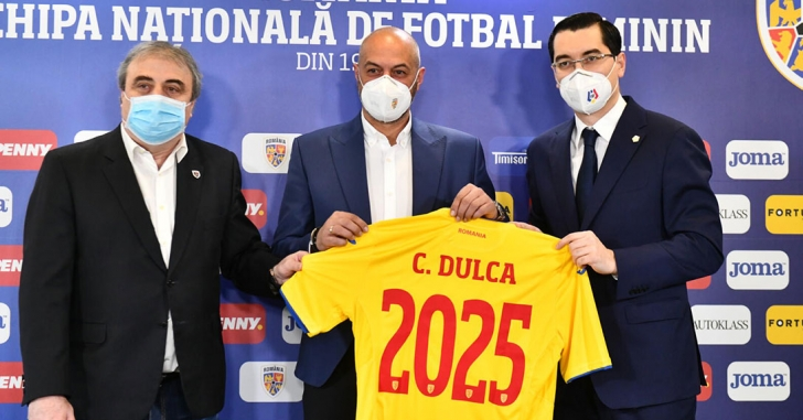 Cristian Dulca este noul selecționer al echipei naționale de fotbal feminin