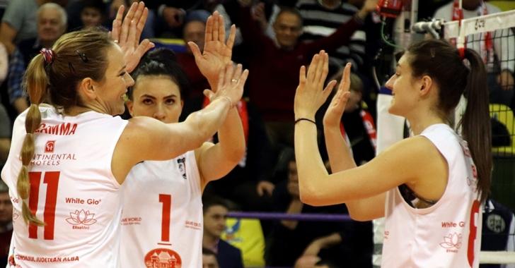 CSM Volei Alba Blaj - Sistem9 Yesilyurt Istanbul în finala Cupei Challenge