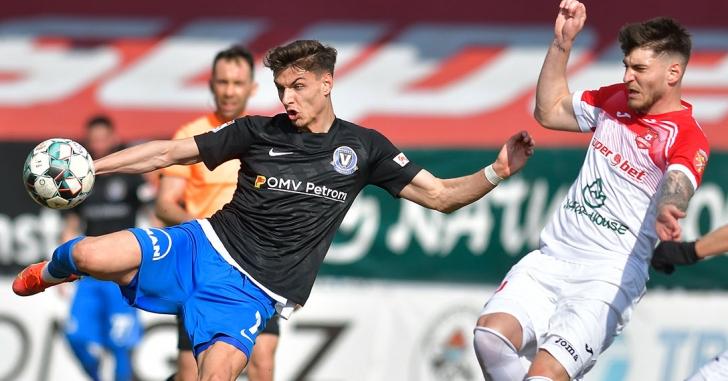 Liga 1: Remiză fără gol pe un teren greu