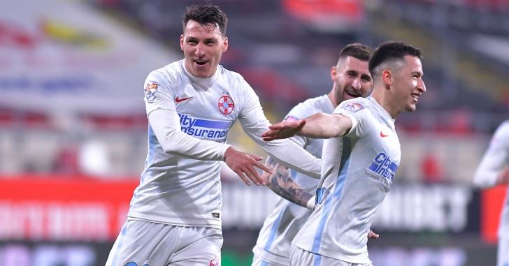 Liga 1: Un gol, ratări monumentale și emoții pe final pentru FCSB la Arad