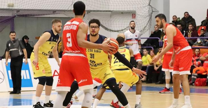 CSM CSU Oradea si BC CSU Sibiu vor juca la Oradea in play-off-ul FIBA Europe Cup