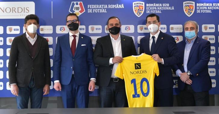 Nordis Group extinde parteneriatul cu FRF: va susține naționalele U19 și U20