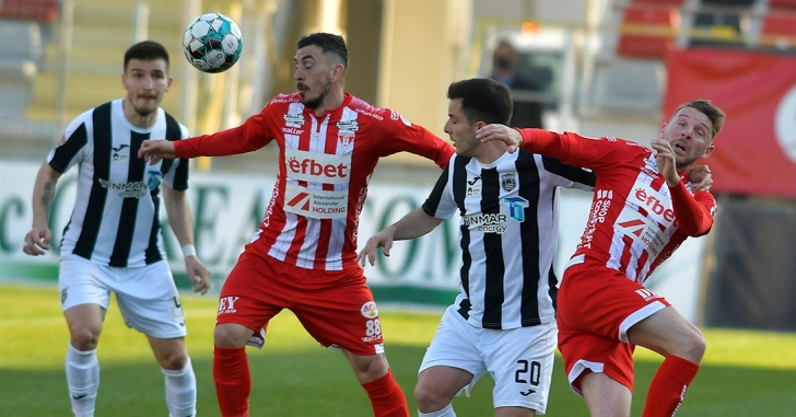 """Liga 1: Remiză fără gol pe """"Marin Anastasovici"""""""