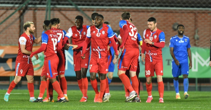 Liga 1: Ashkovski aduce punctul liniștii pentru FC Botoșani
