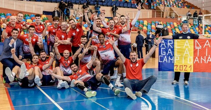 DA1M: CSM Arcada Galați păstrează trofeul de campioană