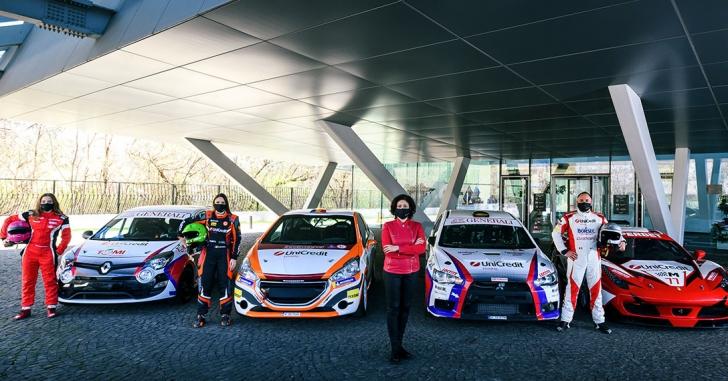 UniCredit Leasing anunță al cincilea său sezon în motorsportul românesc, cu o echipă extinsă