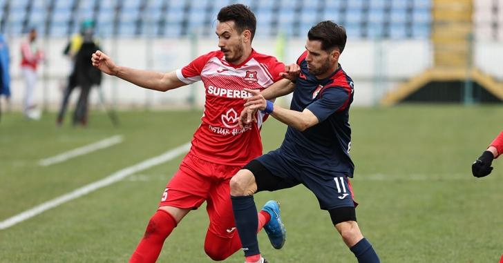Liga 1: Victorie clară pentru Chindia în primul joc de play-out
