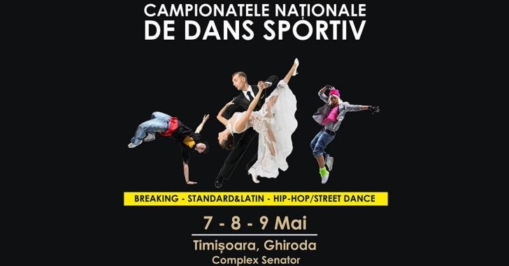 Breaking, Hip Hop si Streetdance la Campionatele Naționale, alături de Dansul Sportiv