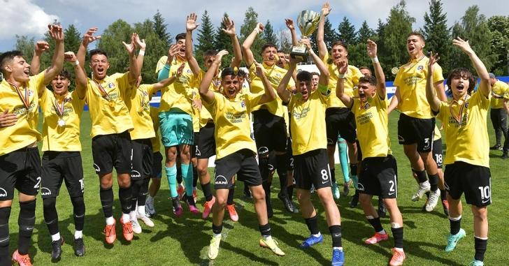Viitorul Constanța a câștigat Liga Elitelor U17 în finala cu UTA Arad