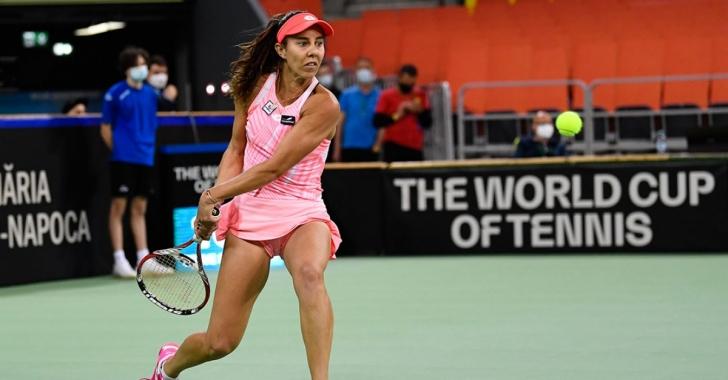 WTA Bastad: Pe ambele fronturi