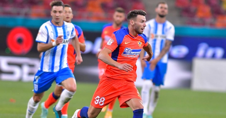 Liga 1: Cordea duce FCSB spre victorie în derbyul cu Universitatea Craiova