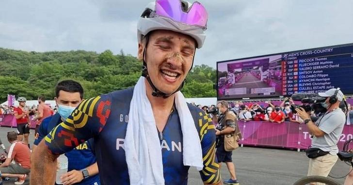 JO - Ziua 3: Vlad Dascălu, la 15 secunde de podium la mountain bike