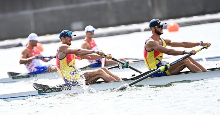 JO: Argint olimpic românesc la dublu rame după 33 de ani