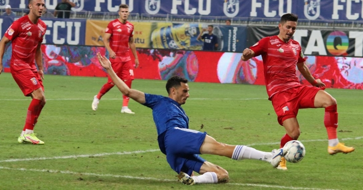 Liga 1: Chindia se întoarce cu un punct din Bănie