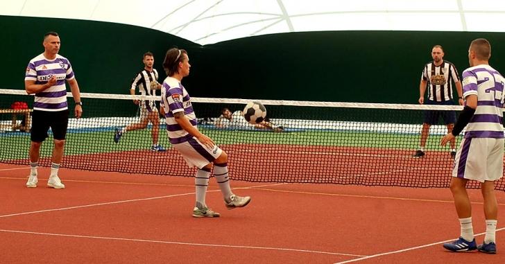 Campionatul de tenis cu piciorul: Black Hill Vatra Dornei a câștigat etapa de pe teren propriu