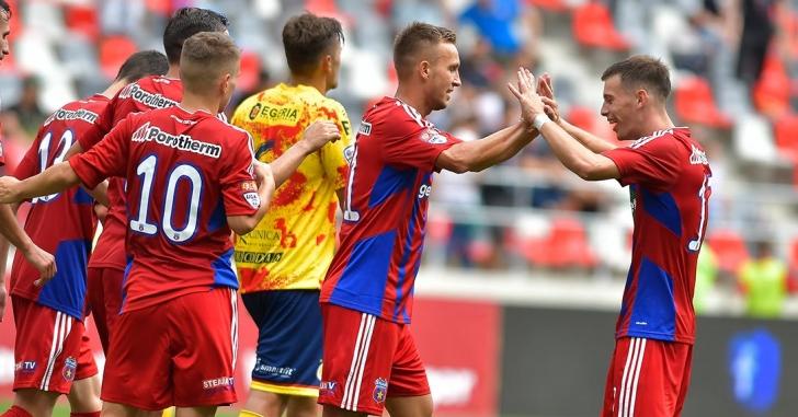Liga 2: CSA Steaua urcă pe primul loc
