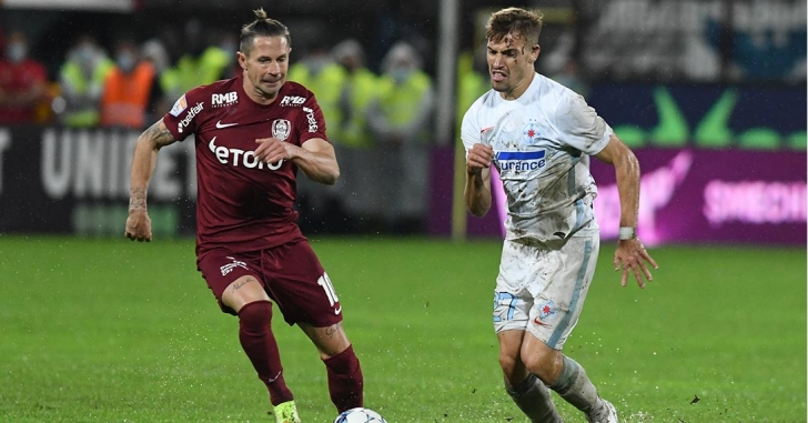 Liga 1: CFR Cluj - FCSB 4-1