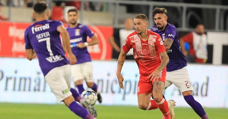 Liga 1: Remiză cu patru goluri la Arad