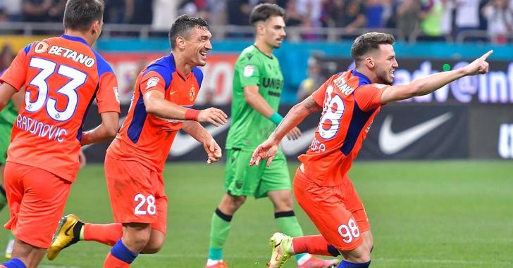 """Liga 1: Set alb pentru FCSB, cea mai dură înfrângere pentru Dinamo în """"eternul derby"""""""