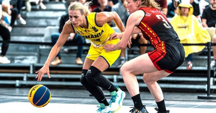 România se oprește în sferturile de finală la FIBA 3x3 Europe Cup