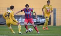 Steaua, meci slab și eșec cu FC Lucerna
