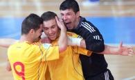 România versus Belgia, 6-1 la futsal!