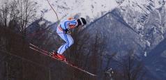 Schi alpin matinal la JOcurile de la Soci