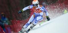 Ania Caill a trecut cu bine de slalomul uriaş