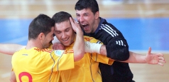 Futsal - România-Franța 4-1