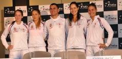 Fed Cup - Conferință de presă Serbia