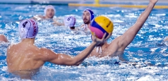 Dinamo medaliată cu bronz a Superligii de polo