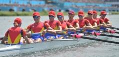 Concurență record la Europenele de canotaj