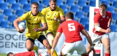 O victorie și o înfrângere la rugby 7
