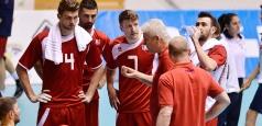 Programul naționalei masculine de volei la turneul din Ungaria