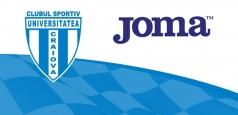 Universitatea va evolua în echipament Joma în sezonul viitor