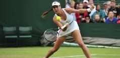 Wimbledon: Trei înfrângeri la simplu feminin