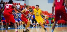 A doua victorie pentru baschetbaliști la turneul de la Sibiu