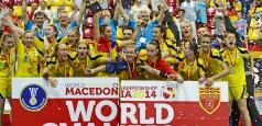 Digisport premiază cu 100 000 de euro aurul mondial la U18