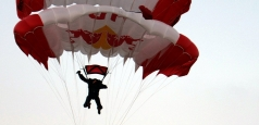 Alexandru Nicolau a anunțat sosirea lui Baumgartner în România printr-un salt inedit la punct fix